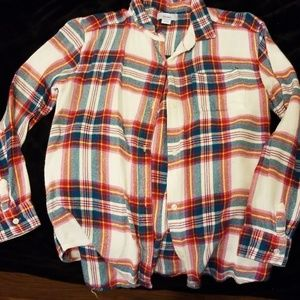 Girls Old Navy flannel shirt